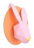 Paper Bunny Head Kit (Pink and Peach)