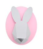 Paper Bunny Head Kit (Grey and Pink)