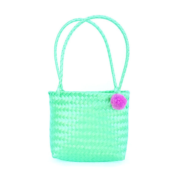 Mini Pom Bag Green