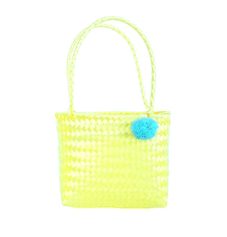 Mini Pom Bag Yellow