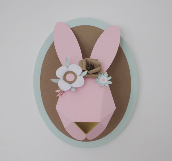 Custom Decorated Bunny
