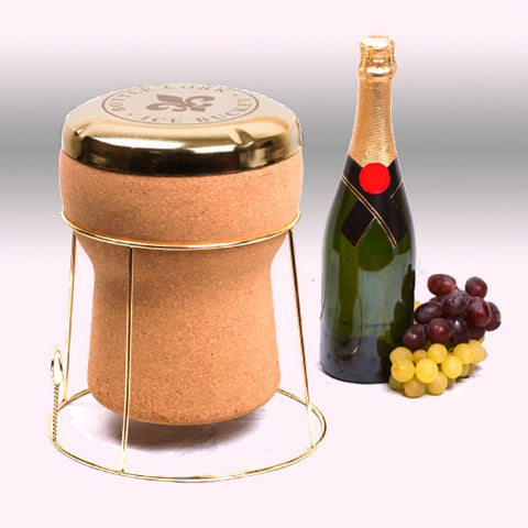 Champagne Cork Ice Bucket