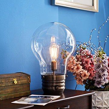Great Big Light Bulb Table Lamp Giant Light Bulb Table Lamp From