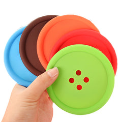 Button Coaster Set
