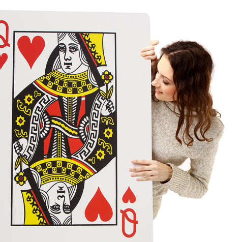 Gigantic Playing Card