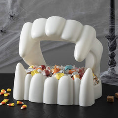 Vampire Teeth Candy Bowl