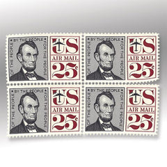 Lincoln Air Mail Stamp