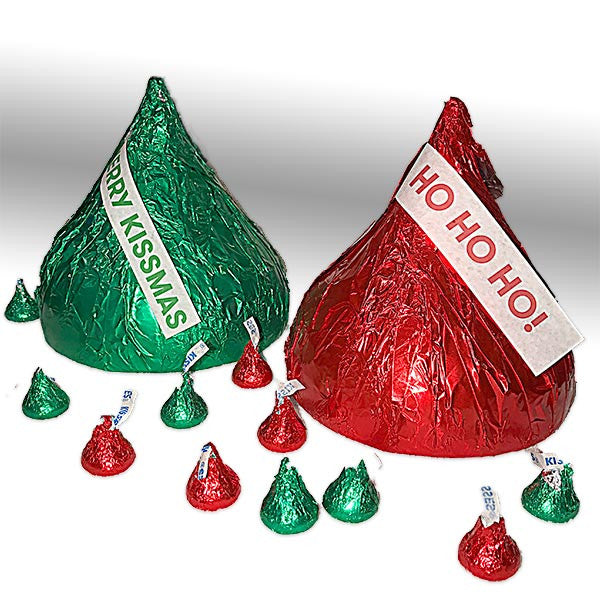 holiday hershey kiss