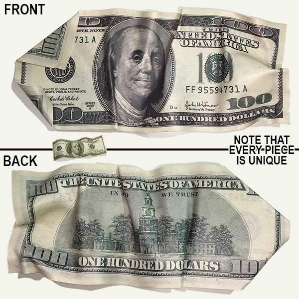 great big 100 bill bank note giant 100 bill bank note from