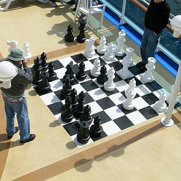 Great Big Chess Set Giant Chess Set From