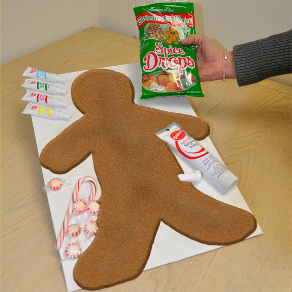 Great Big Gingerbread Man Kit Giant Gingerbread Man Kit From