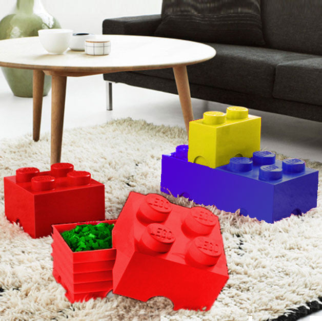 Red Lego Storage Block · Red Lego Storage Block
