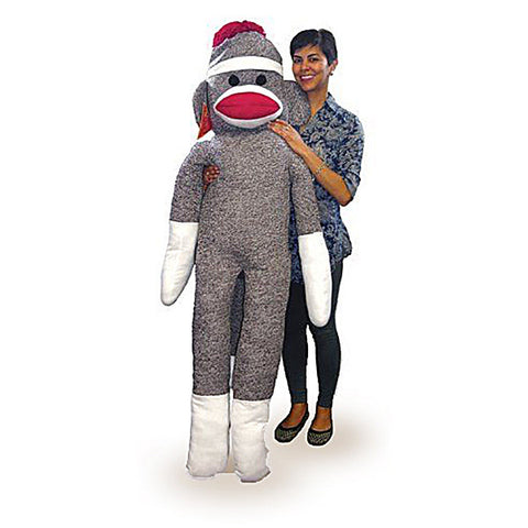 Life-size Sock Monkey