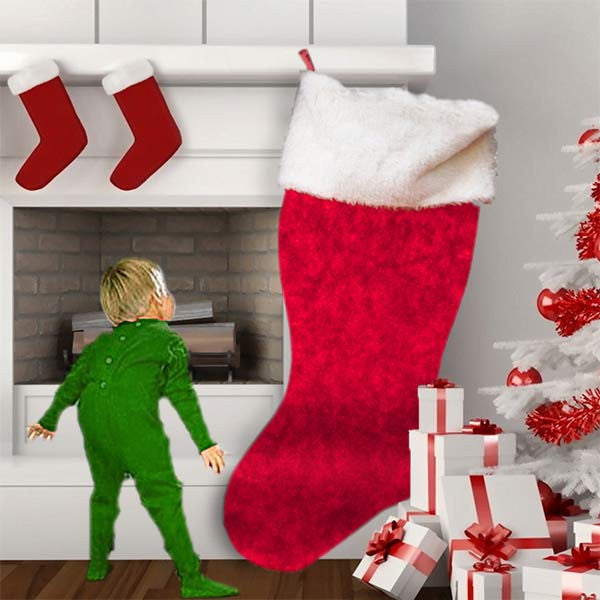 great big christmas stocking giant christmas stocking from
