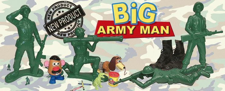 Giant Army Man Collection