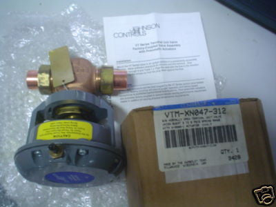 Hydraulic / Pneumatic Johnson Control VTM-XN047-312 ACTUATOR COMES WITH V-3000-1  HP  RPM