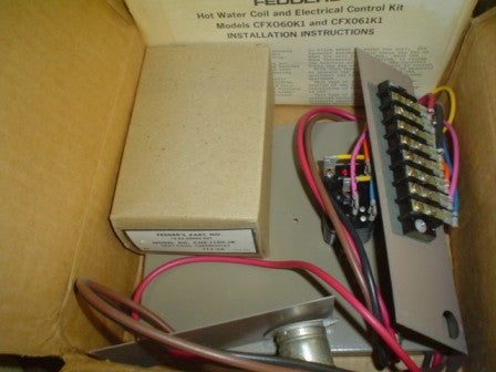Fedder CFX061K1 Hot Water Coil & Electrical Control Kit
