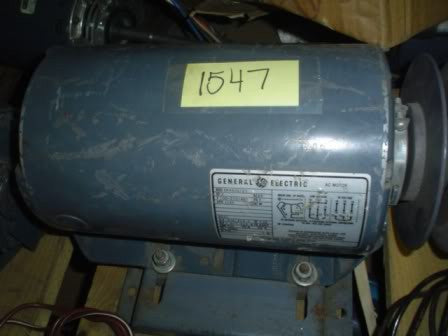 General Electric Motor 5K49UG725