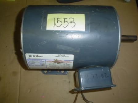 General Electric Motor 5K47SG126AS