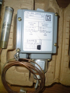 SQUARE D 9025-GXW-3 TEMPERATURE SWITCH 9025GXW-3
