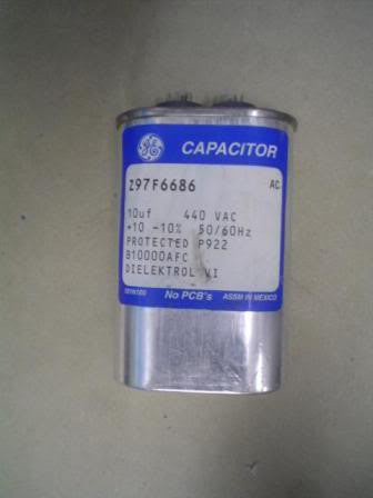 General Electric Capacitor/Fuses Z97F6686