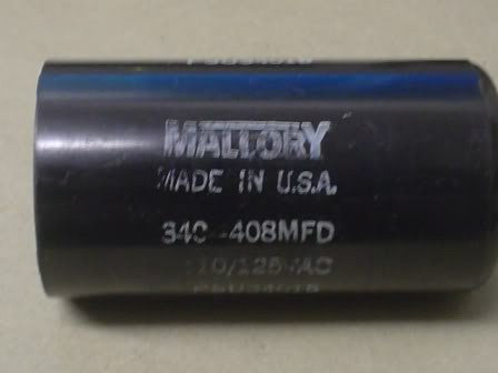 Mallory Capacitor/Fuses PSU34015