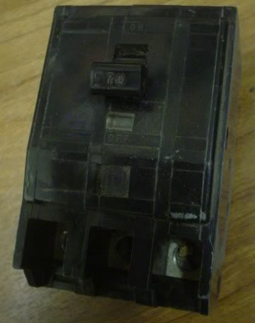 SQUARE D Circuit Breaker QO370