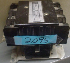 General Electric Contactor Model:CR153GB078AAA, 208-240V, 3pole,75amp