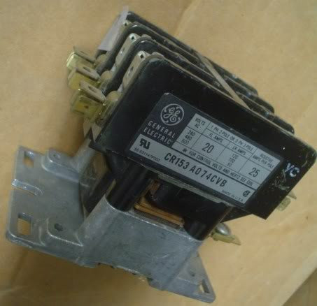 General Electric Contactor CR153A07CVB