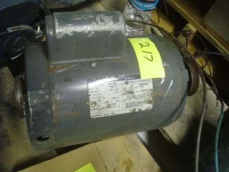 General Electric Motor 5KC43MG1802X