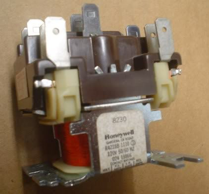 Honeywell Relay R4228B 1110 3