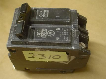 General Electric Circuit Breaker RV-2937