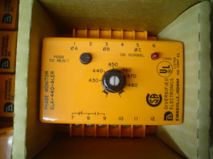 Voltage Time Delay Current Monitor 430-480V DIVERSIFIED ELECTRONICS INC. SLA-440-ALER