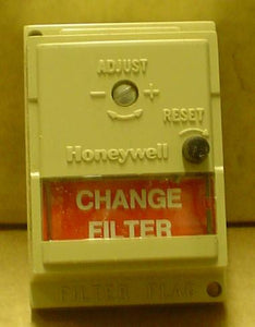 Clogged filter flag indicator honeywell S830A 1005