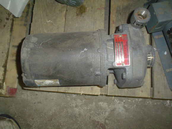Pump Ingersoll-Rand SMP-2000  208-230/460-190/380, 3PH, 50/60 HP 2 RPM 2850/3450