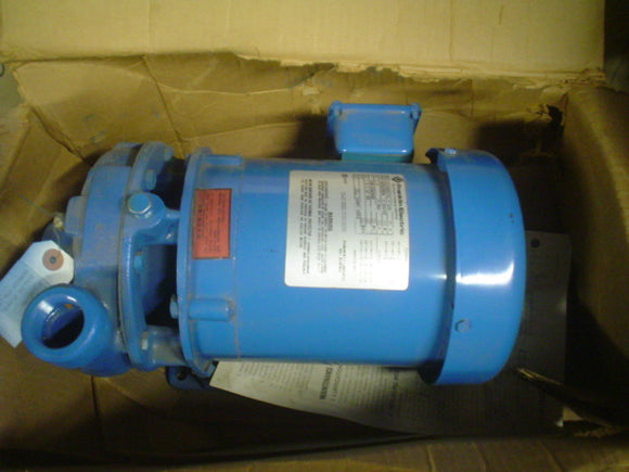 Pump Gould  3642 1313490101 208-230/460, 3PH,  60/50 HP 0.5 RPM 3450/2850