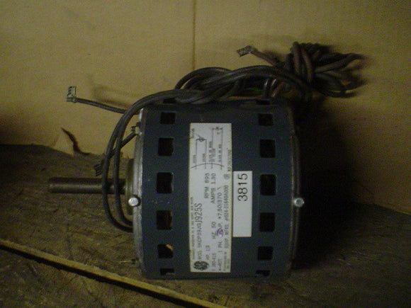 General Electric Motor Model:5KCP39JGJ9255, 380/415V,1Phase,1/3HP 895RPM,1.3A
