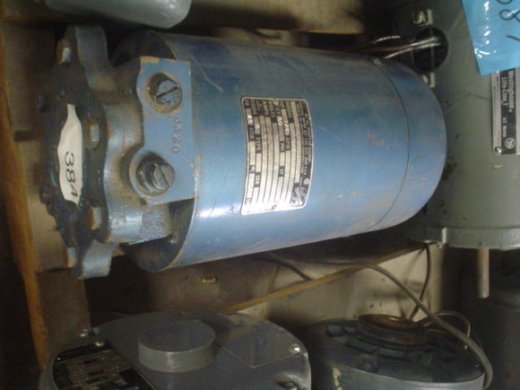 Pump A.O. Smith S48GD2107 CEG63JX 115V HP 0.25 RPM 3450