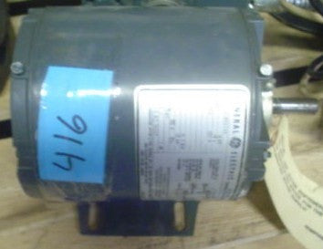 General Electric Motor Model 5kh32bn113x 115v 1ph 60hz