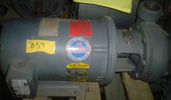Pump Baldor  CAT#200M 7.5 208-230/460v  3PH  HP 7.5 RPM 3450