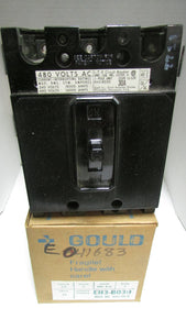 Gould ITE EH3-B030 30A 240/480V 3 Pole Current Interrupting Circuit Breaker
