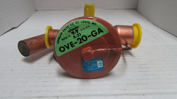 Sporlan Thermostatic Expansion Valve OVE-20-GA
