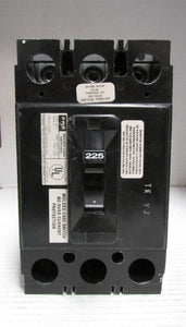 FPE 041003 Circuit Breaker Model NEJ233225NA 240V 3POLE 225A