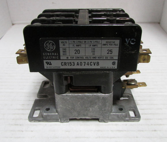 Contactor General Electric CR153A074CVB  24V COIL