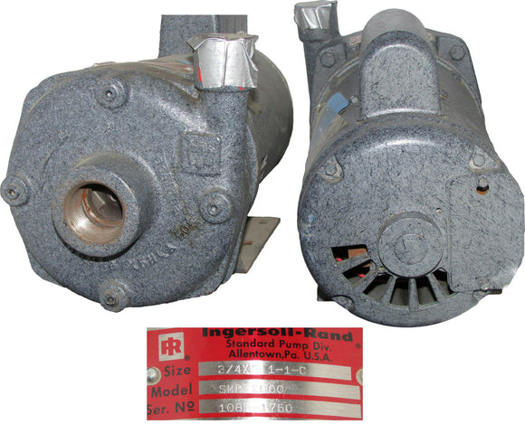 Ingersoil-Rand Pump, Model:SMP 2000 Serial# 1085-1151, Voltage 208-230/460 - 3 - 60