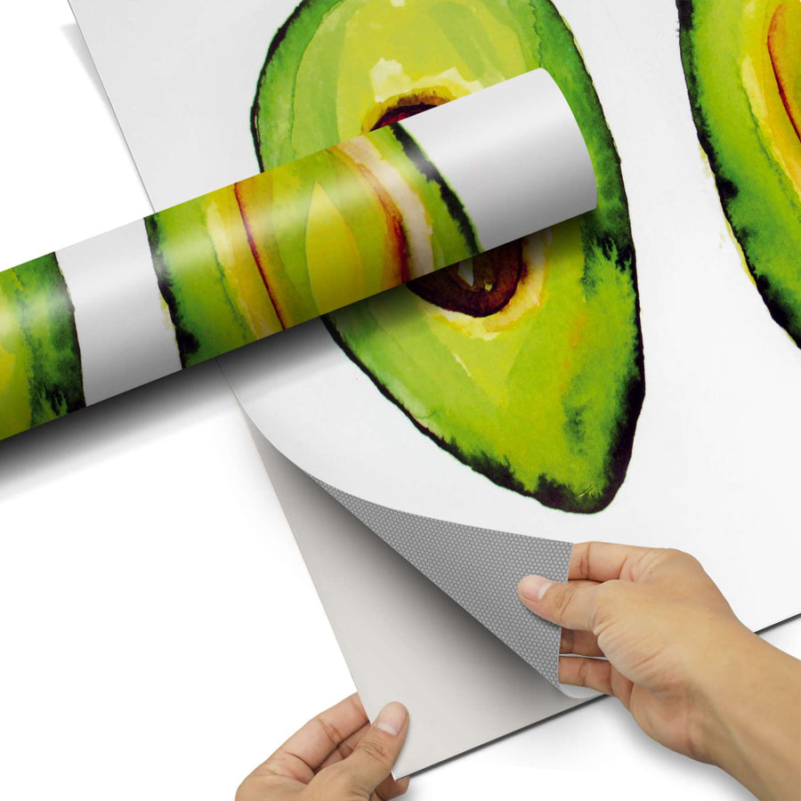 Dekorfolie Avocado halb und halb - Do-it-yourself - creatisto