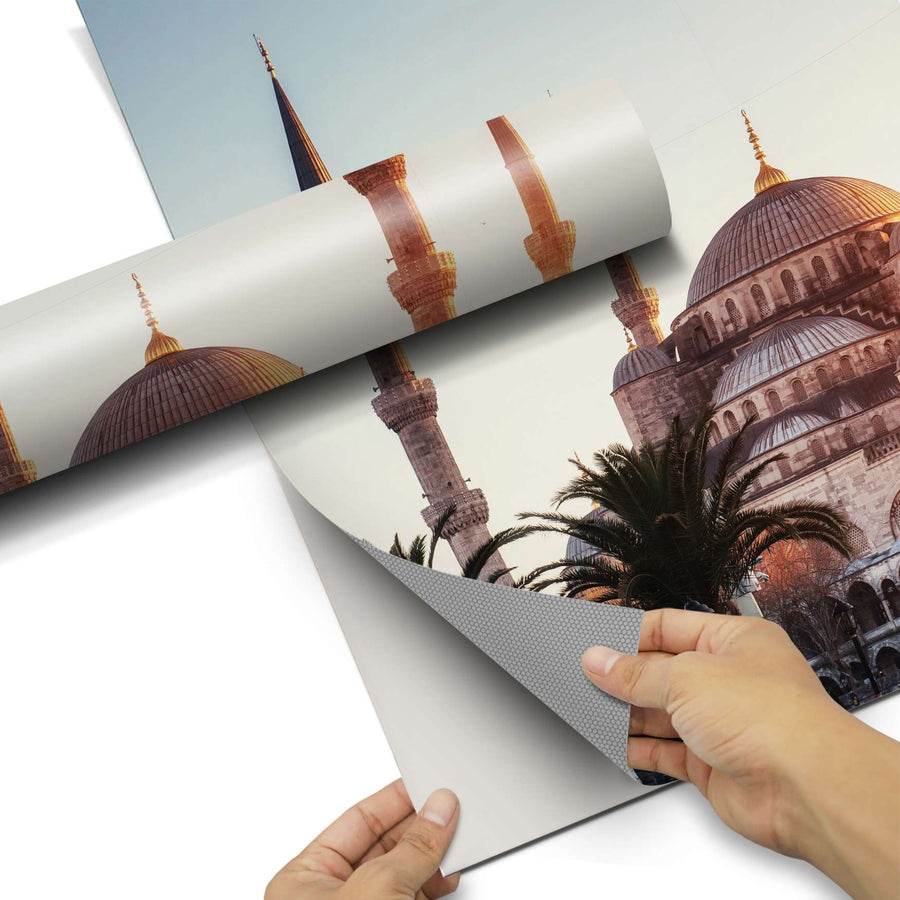 Dekorfolie Blue Mosque - Do-it-yourself - creatisto