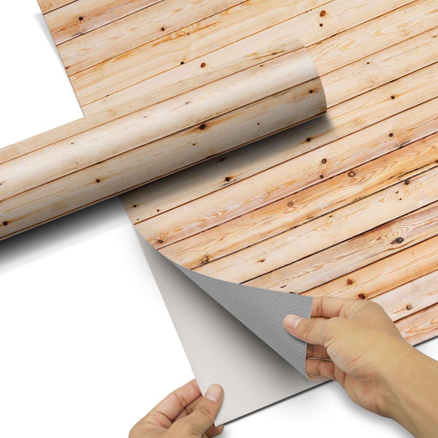 Dekorfolie Bright Planks - Do-it-yourself - creatisto