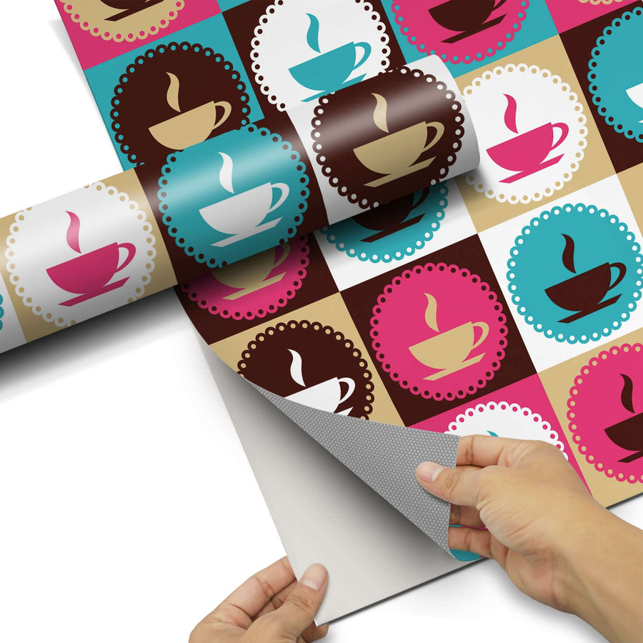 Dekorfolie Coffee Cups - Do-it-yourself - creatisto