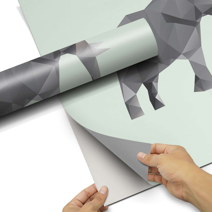 Dekorfolie Origami Elephant - Do-it-yourself - creatisto